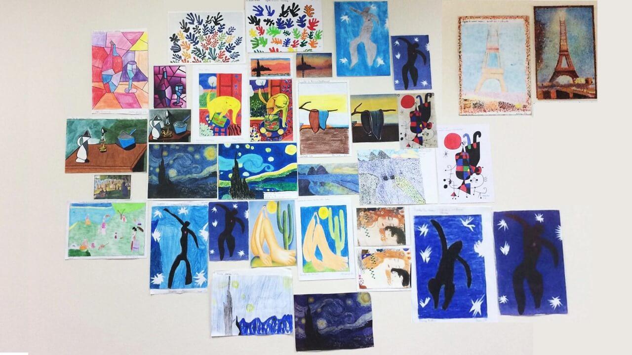 pintura e música 6A